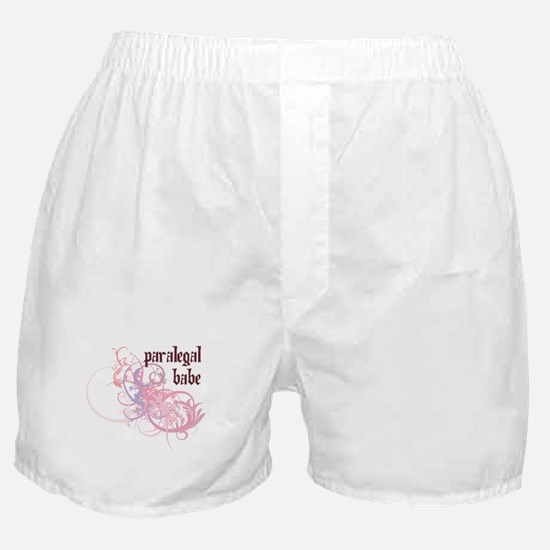Paralegal Babe Boxer Shorts