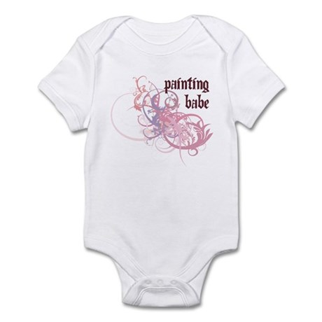 Painting Babe Infant Bodysuit