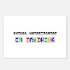 Animal Nutritionist In Training Postcards (Package