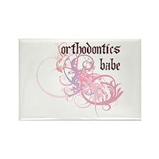 Orthodontics Babe Rectangle Magnet