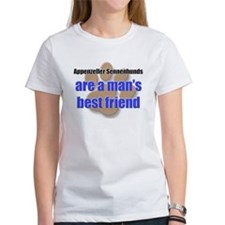 Appenzeller Sennenhunds man's best friend Tee