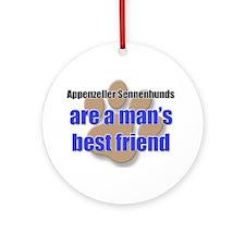 Appenzeller Sennenhunds man's best friend Ornament