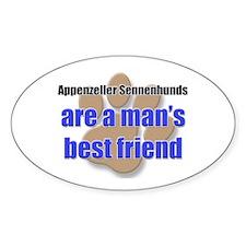 Appenzeller Sennenhunds man's best friend Decal