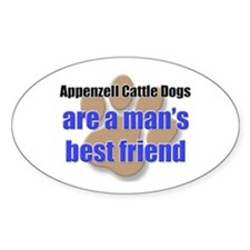 Appenzell Cattle Dogs man's best friend Decal