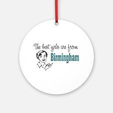 Best Girls Birmingham Keepsake (Round)