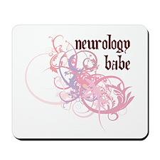 Neurology Babe Mousepad