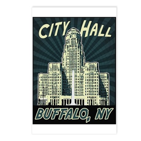 Buffalo City Hall Postcards (Package of 8)