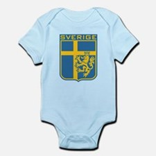 Sverige Infant Bodysuit