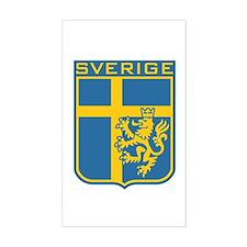 Sverige Rectangle Decal