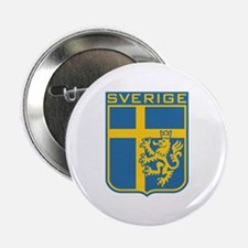 """Sverige 2.25"""" Button"""