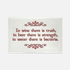 German Proverb Rectangle Magnet (10 pack)