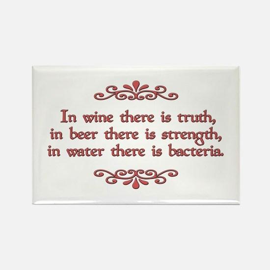 German Proverb Rectangle Magnet