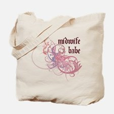 Midwife Babe Tote Bag