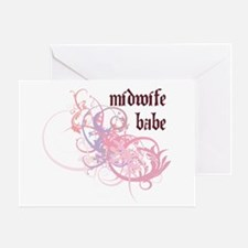 Midwife Babe Greeting Card
