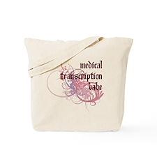 Medical Transcription Babe Tote Bag