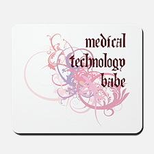 Medical Technology Babe Mousepad