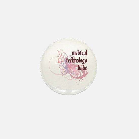 Medical Technology Babe Mini Button