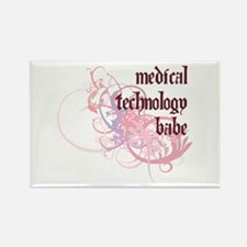 Medical Technology Babe Rectangle Magnet