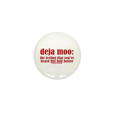 Deja Moo Mini Button