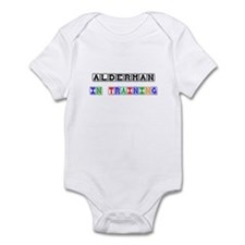Alderman In Training Infant Bodysuit