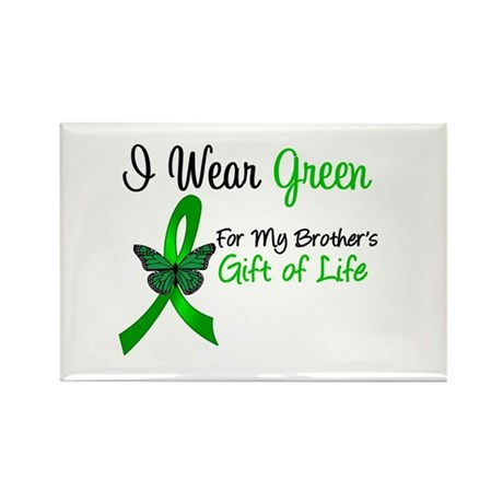 Organ Donor Brother Rectangle Magnet