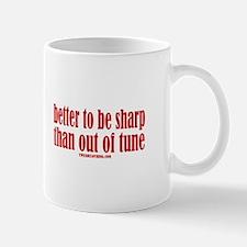 Sharp Tune Mug