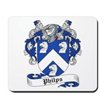 Philips Family Crest Mousepad