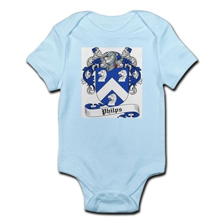 Philips Family Crest Infant Creeper