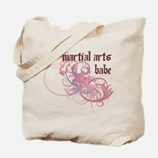 Martial Arts Babe Tote Bag