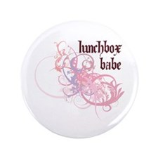 """Lunchbox Babe 3.5"""" Button (100 pack)"""