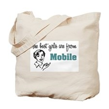 Best Girls Mobile Tote Bag