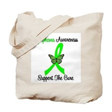 Lymphoma Butterfly Tote Bag