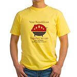 Chauvinist Pig Yellow T-Shirt