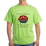 Chauvinist Pig Green T-Shirt