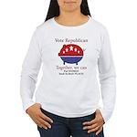 Chauvinist Pig Women's Long Sleeve T-Shirt