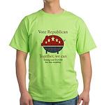 Tax Cut Pig Green T-Shirt