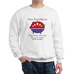 Tax Cut Pig Sweatshirt