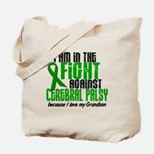In The Fight Against CP 1 (Grandson) Tote Bag
