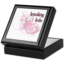 Kayaking Babe Keepsake Box