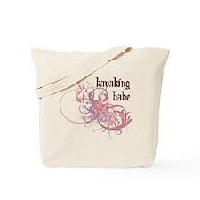 Kayaking Babe Tote Bag