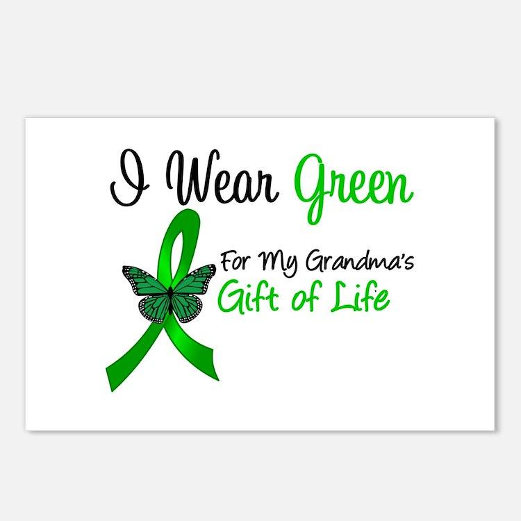 Organ Donor Grandma Postcards (Package of 8)