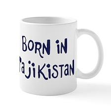 Born in Tajikistan Mug