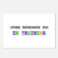 Agriculture Research Scientist In Training Postcar