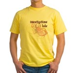 Investigations Babe Yellow T-Shirt