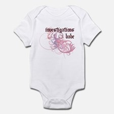Investigations Babe Infant Bodysuit