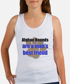 Afghan Hounds man's best friend Women's Tank Top