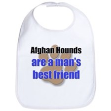 Afghan Hounds man's best friend Bib