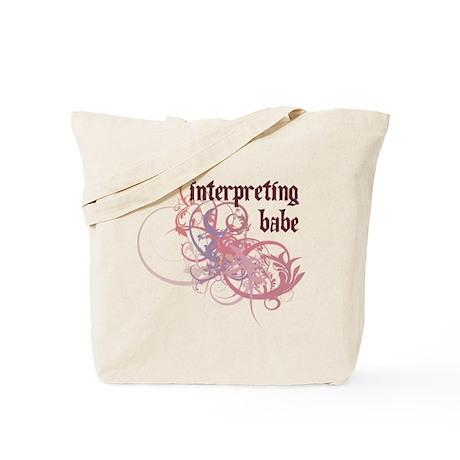Interpreting Babe Tote Bag