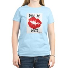 Make Out Whore! Women's Pink T-Shirt