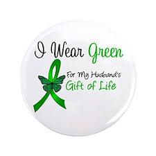 """Organ Donor Gift 3.5"""" Button"""
